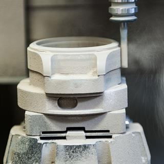 High volume high precision ceramic forming process